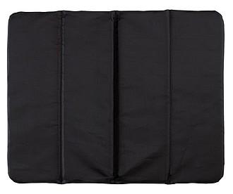 TORSELLO Poduška na židli, složitelná, černá