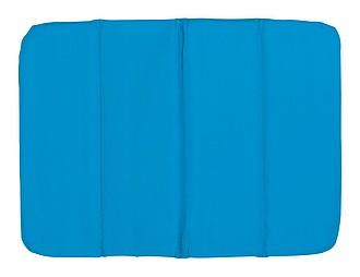 TORSELLO Poduška na židli, složitelná, modrá