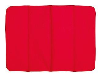 TORSELLO Poduška na židli, složitelná, červená