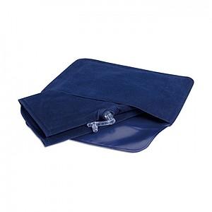 Nafukovací cestovní polštářek, modrá