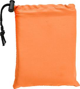MARTIN Měkký podsedák s pěnovou vložkou, oranžový