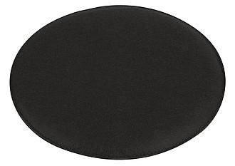 Plstěný polštář k sezení, O35 cm, černá