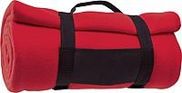 BĚTKA Fleecová deka, růžovo červená