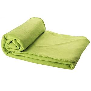 BLANKET Fleecová pikniková deka, sv.zelená