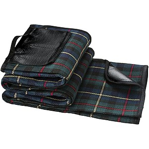 Pikniková deka, zelená