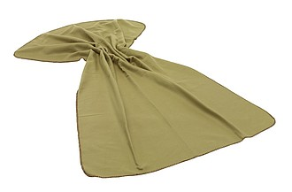 flaušová deka na piknik, 180 x 120 cm, zelená