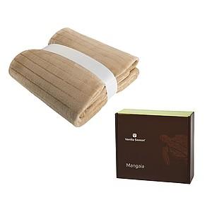 VS MANGAIA deka béžová, 130 × 180 cm v krabici