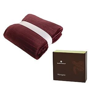 VS MANGAIA vínová deka, 130 × 180 cm, v krabici