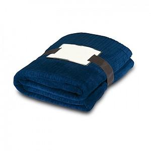 Jemná fleecová deka, modrá