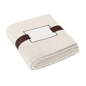 Jemná fleecová deka, béžová