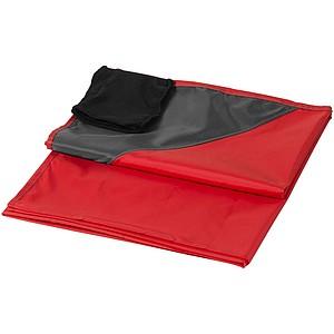 Venkovní deka, červená