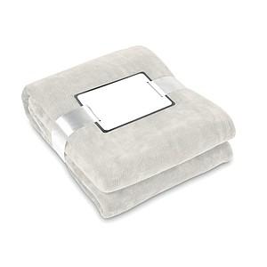 Flanelovo fleecová deka, béžová