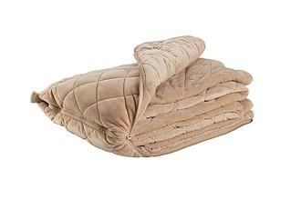 VS SILVRETA deka a polštář v jednom, béžová