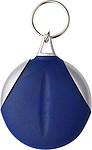 DAPER Kulatý přívěšek na klíče s hadříkem na brýle, modrý
