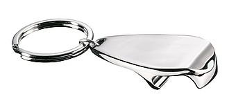 LUK kovový přívěšek na klíče s otvírákem na lahve