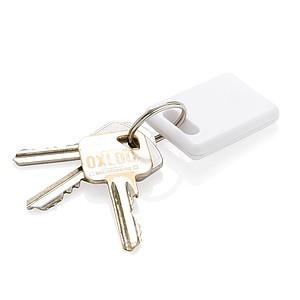 Klíčenka 2v1 skonektorem Mfi a mikro USB, stříbrná