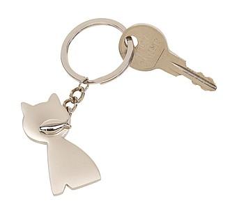 Přívěšek na klíče ve tvaru kočky