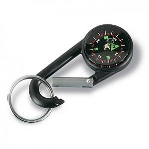 SPAT Kompas / karabina / přívěsek na klíče, černý