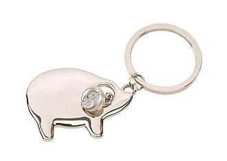 COCHON Přívěšek na klíče ve tvaru prasátka