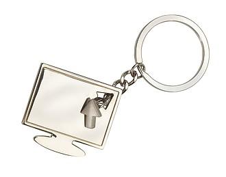 Přívěšek na klíče ve tvaru monitoru