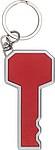KENDAL Přívěšek na klíče ve tvaru klíče, červená