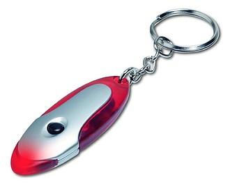 ALI Přívěsek na klíče - svítilna červená