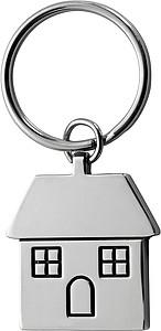 HOME Přívěsek na klíče ve tvaru domu