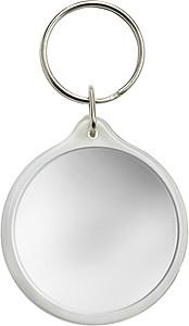 LASKA Přívěšek na klíče, kulatý, místo pro vložení lístku