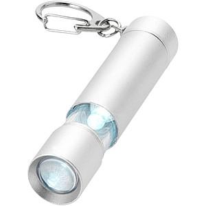 Přívěsek na klíče s vysouvacím světlem, stříbrná