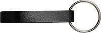 ALVAR kovový otvírák - přívěsek na klíče, černá