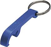 ALVAR kovový otvírák - přívěsek na klíče, modrá