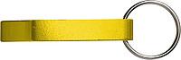 ALVAR kov.otvírák-přívěsek na klíče, žlutá