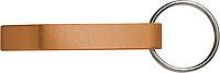 ALVAR kovový otvírák - přívěšek na klíče, oranžová