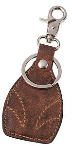 EMBOSA Kožený přívěšek na klíče