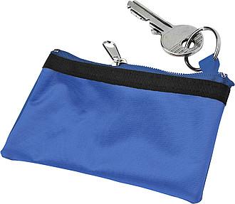 HOLMES Pouzdro na klíče,modrá,nylon