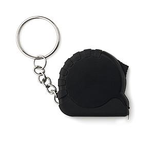 Svinovací metr - přívěsek, černá