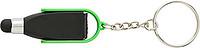 Přívěsek na klíče se stylusem a čistítkem displeje,sv.zelený