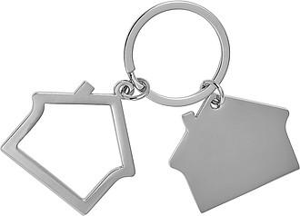 Přívěsek na klíče ve tvaru domečku