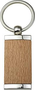 SARDOL Přívěsek na klíče v kombinaci dřeva a kovu