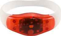 ALEMA Silikonový náramek se 2 blikajícími LED