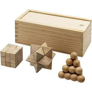 KASTET dřevěná hra v dárkové dřevěné krabici
