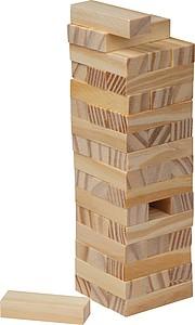 Dřevěná hra věž