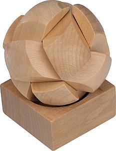 FONTES Dřevěný hlavolam koule
