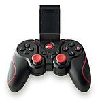 Plastový bluetooth 2.1 herní ovladač pro použití s chytrým telefonem, černá