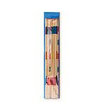 Velké Mikado z bambusu s obalem, modrá