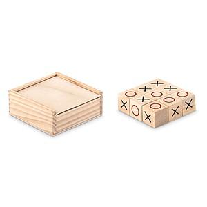 OBIDOS Dřevěná hra piškvorky