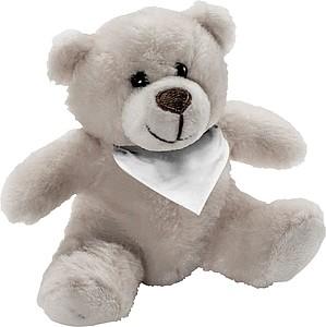 Plyšový medvídek 10cm se šátkem