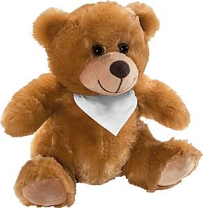 BABULO Plyšový medvídek se šátkem na krku