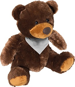Plyšový medvídek 20cm se šátkem