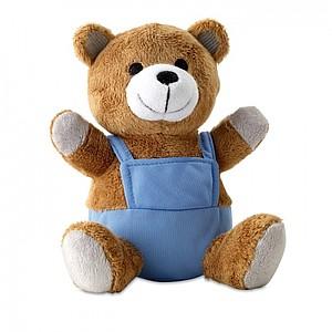 ALEXANDER Plyšový medvídek v kraťasech, modrá